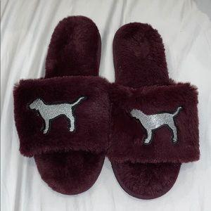 PINK VS super soft slippers